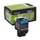 Toner Lexmark 702C Cyan 70C20C0 1.000 Pgs
