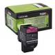 Toner Lexmark 702M Magenta 70C20M0 1.000 Pgs