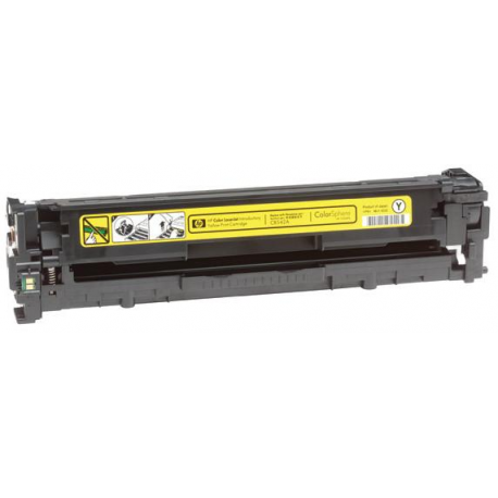 ECO PREMIUM CB542A HP TONER YELLOW 1400 ΣΕΛ