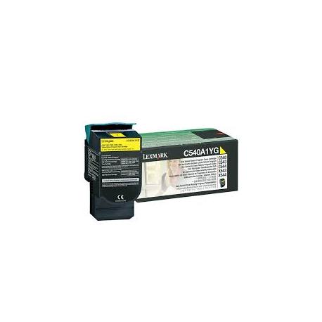 Toner Lexmark C54x / X54x Yellow C540A1Y 1.000 Pgs