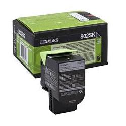Toner Lexmark 80C2SK0 Black (80C2SK0) 2.500 Pgs