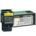 Toner Lexmark C54x / X54x Yellow High Yield C540H1Y 2.000 Pgs