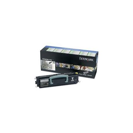 Toner Lexmark X340 / X342 Black X340A11G 2.500 Pgs