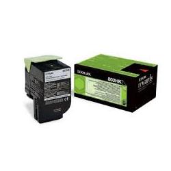 Toner Lexmark 802HK Black Extra High Yield 80C2HK0 4.000 Pgs