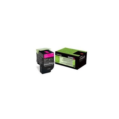 Toner Lexmark 80C2SM0 Magenta (80C2SM0) 2.000 Pgs