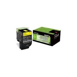 Toner Lexmark 802SY Yellow (80C2SY0) 2.000 Pgs