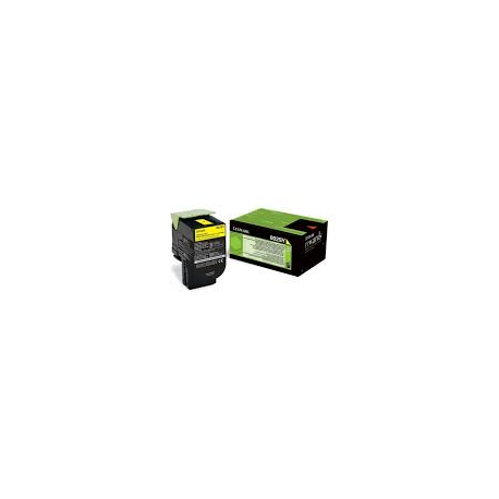 Toner Lexmark 802SY Yellow High Yield Return 80C2SY0 2.000 Pgs
