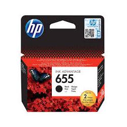 Μελάνι HP No 655 Black CZ109AE 550Pgs