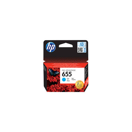 Μελάνι HP No 655 Cyan CZ110AE 600Pgs