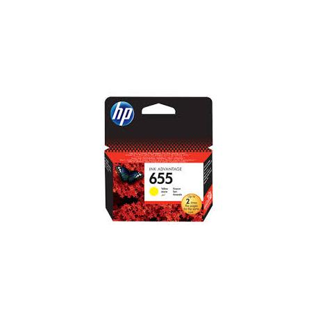 Μελάνι HP No 655 Yellow CZ112AE 600Pgs