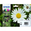 EPSON 18 MultiPack (B/C/M/Y) 4x Inks, , C13T18064010