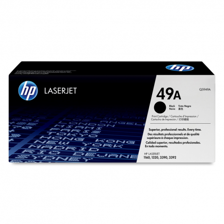 Toner HP No 49A Black Q5949A 2.500 Pgs
