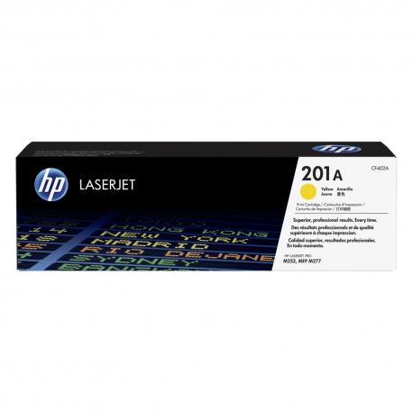 Toner HP No 201A Yellow CF402A 1.400 Pgs