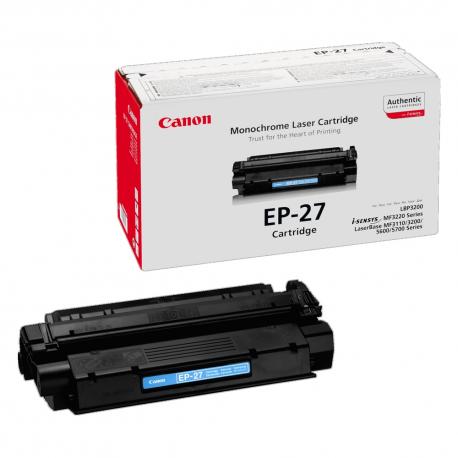 Toner Canon EP-27 Black 2.500 Σελίδες