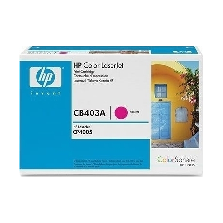 Toner HP No 642A Magenta CB403A 7.500 Pgs