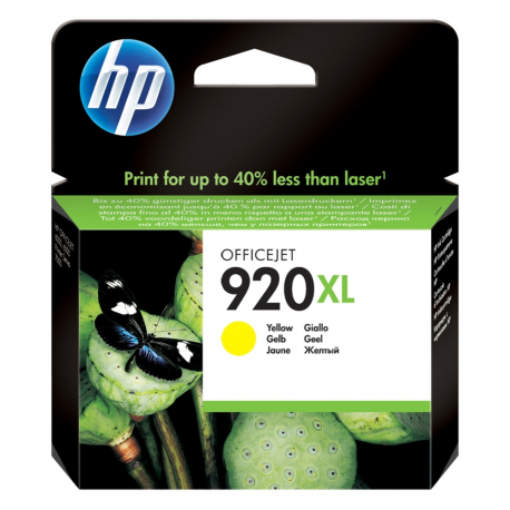 HP 920XL Yellow CD974AE