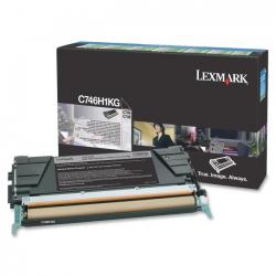 Lexmark C746H1K Toner Black 12.000 Σελ