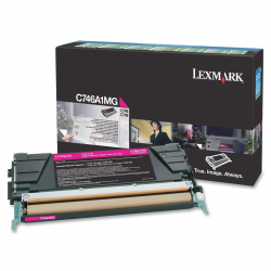 Lexmark C746A1M Toner Magenta 7.000 Σελ