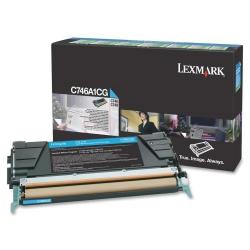 Lexmark C746A1C Toner Cyan 7.000 Σελ