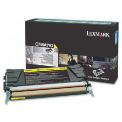 Lexmark C746A1Y Toner Yellow 7.000 Σελ