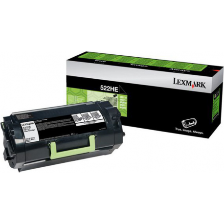 Lexmark 52D2X00 522X Black Toner High Yield 45K