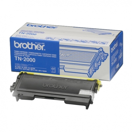 Brother Toner Black TN2000 2.500pgs